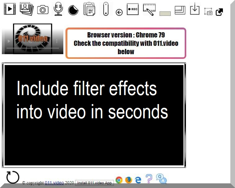Include filter effects into video in seconds