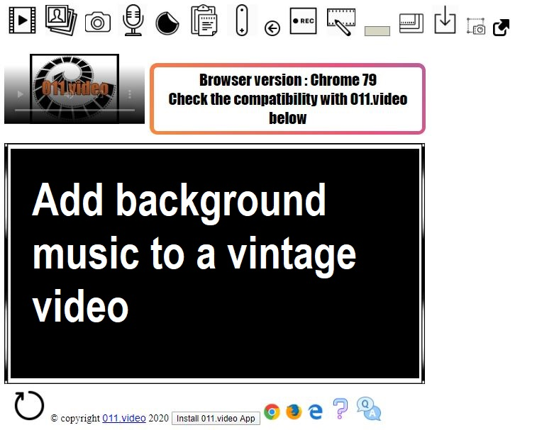 011.video-Add background music to a vintage video