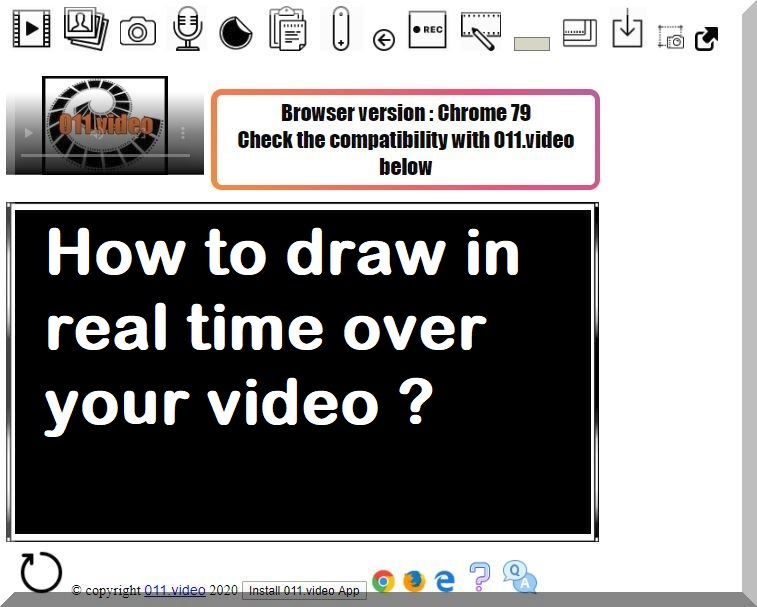 How to draw in real time over your video