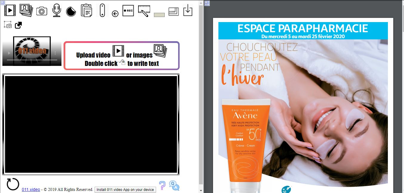 How to convert a Supermarket Promotion Flyer into video