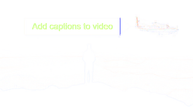 Add captions to video in real time online