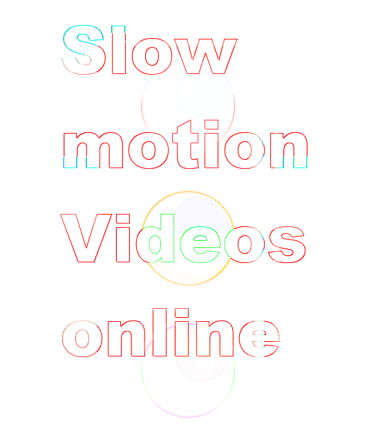 Slow motion video online